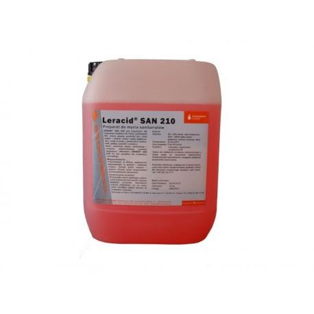 Stockmeier Leracid SAN 210 10L - środek do czyszczenia sanitariatów na bazie kwasu cytrynowego