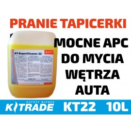 Stockmeier KT22 APC 10L - środek do prania tapicerki, czyszczenia plastików i usuwania zabrudzeń