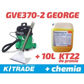 Numatic George GVE 370-2 ZESTAW z koncentratem do prania KT22 10L