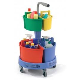 Numatic NC4 Wózek do sprzątania