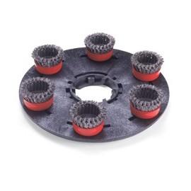 Numatic 606211 Uchwyt z drucianymi szczotkami 400mm